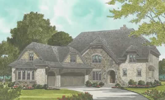 Front Elevation For Country Luxury