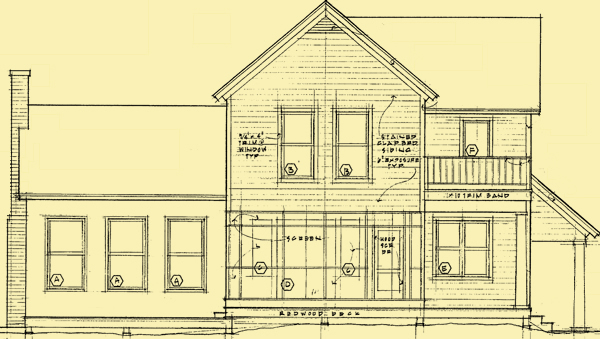 Front Elevation For Heartland Farmhouse