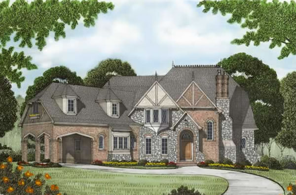 Front Elevation For Manor House