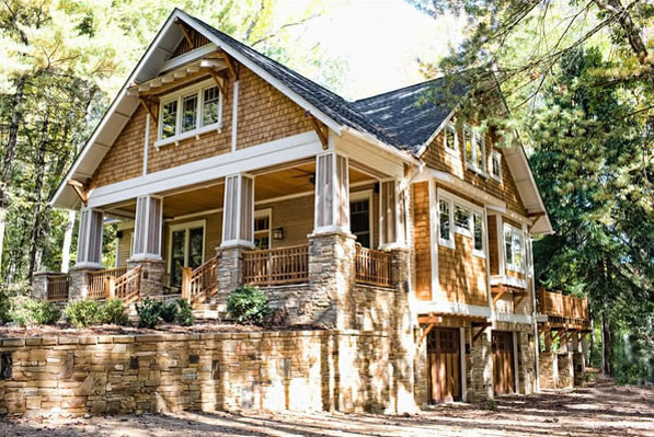 Craftsman Cottage Plans A 4 Bedroom Carolina Style House