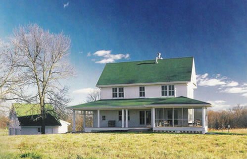 picture 1 of field of dreams - Farmhouse Plans