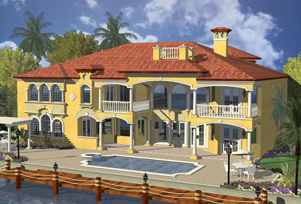 Picture 10 of Waterfront Mediterranean Manor