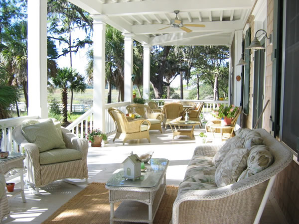 Southern Home Plans Featuring Front & Rear Covered Porches
