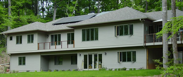 Picture 2 of Unique Passive Solar Home