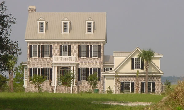 Three Story House Plans 5 Bedroom Colonial Style Home