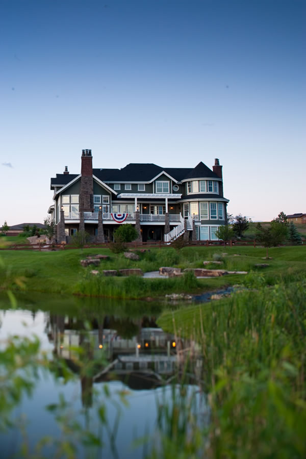 Luxury Waterfront House Plans With A Fantastic Rear View
