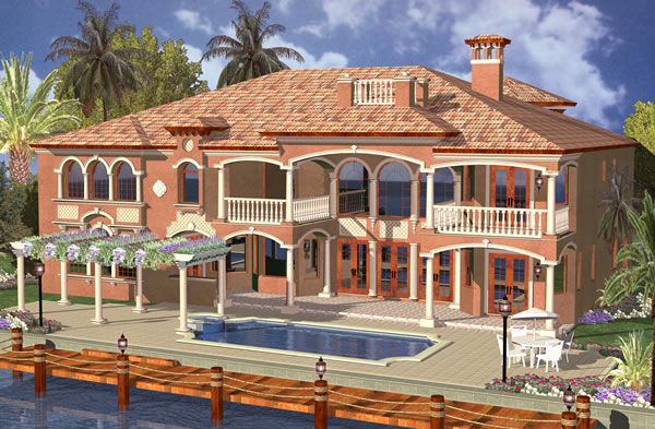 Picture 8 of Waterfront Mediterranean Manor