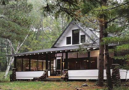 Picture of Porch Cabin