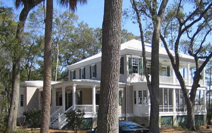 Southern Home Plans Featuring Front Rear Covered Porches