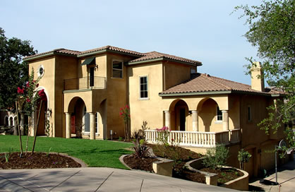 Luxury Home Plans For Beautiful Tuscan Style 4 Bedroom Home