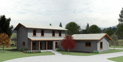 Picture of Two-Story ICF with Separate Master