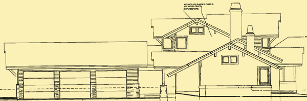 Side 1 Elevation For Lakeview Court