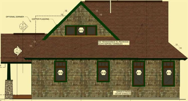 Side 2 Elevation For Adirondack