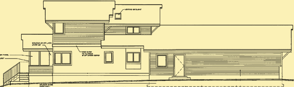 Side 2 Elevation For Lakeview Court